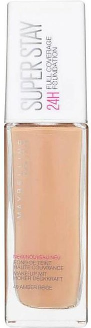 SuperStay Full Coverage Foundation - 49 Amber Beige