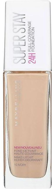 SuperStay Full Coverage Foundation - 10 Ivory