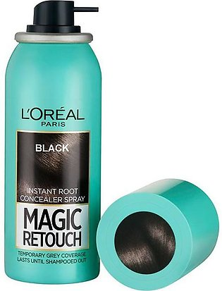 Magic Retouch Root Touch Up Hair Color Spray - Black 75ml