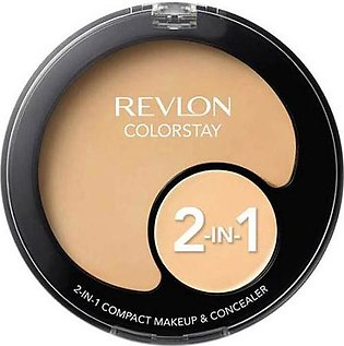 Colorstay 2-in-1 Compact Makeup & Concealer - Buff