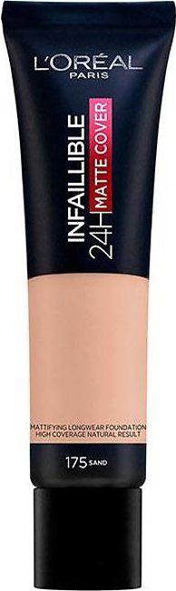 Infallible 24 Hour Matte Cover Foundation - 175 Sand