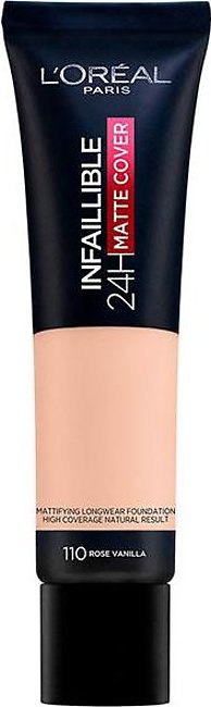 Infallible 24 Hour Matte Cover Foundation - 110 Rose Vanilla