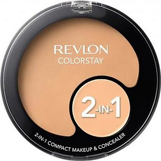 Colorstay 2-in-1 Compact Makeup & Concealer - Nude