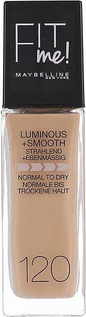 Fit Me Luminous + Smooth Foundation - 120 Classic Ivory