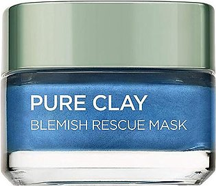 Pure Clay Blue Algae Blemish Rescue Face Mask 50ml