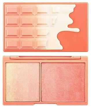 Blush and Highlighter - Peach and Glow