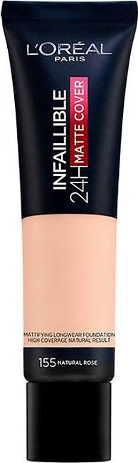 Infallible 24 Hour Matte Cover Foundation - 155 Natural Rose
