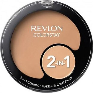Colorstay 2-in-1 Compact Makeup & Concealer - Natural Beige