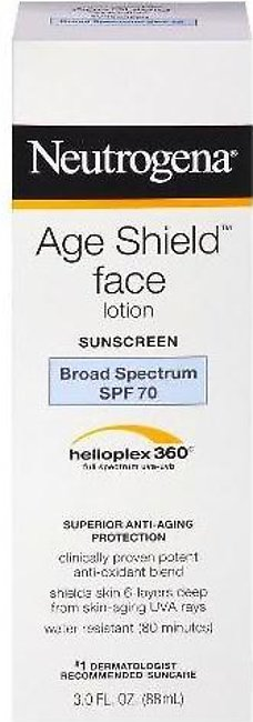 Neutrogena Age Shield Face Lotion Sunscreen SPF70 88ml