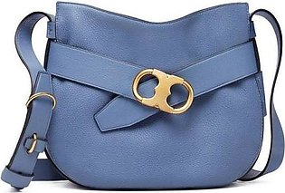 Tory Burch Gemini Belted Small Leather Hobo 33376
