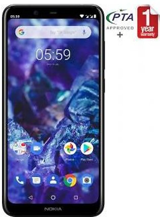 Nokia 5.1 Plus - 32GB 3GB Black