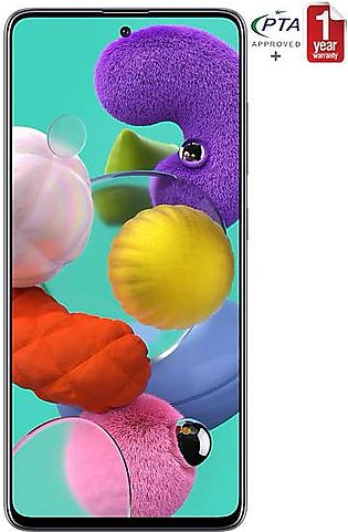 Samsung Galaxy A51 - 6GB 128GB - Black