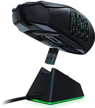 Razer Naga Pro Modular Wireless Mouse with Swappable Side Plates