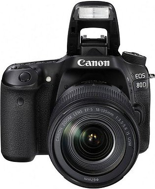 Canon EOS 80D with 18-135mm Lens
