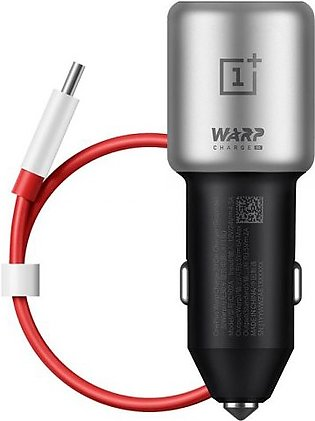 OnePlus Warp Charge 30 Car Charger with 100 cm Warp Cable