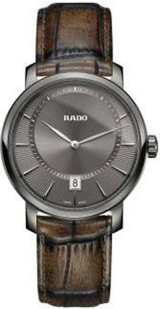 Rado DiaMaster XL Grey Dial Men's Watch