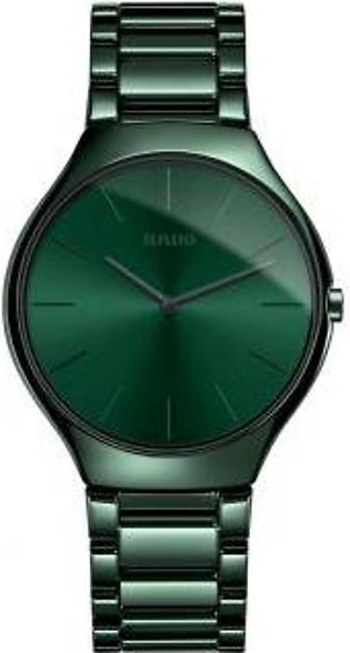 Rado True Thinline Colour Green Dial Men's Watch