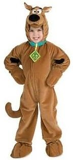 Scooby Doo Child's Deluxe Scooby Costume Large