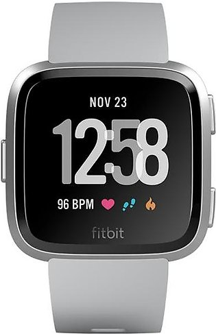 Fitbit Versa™ Watch Silver Gray