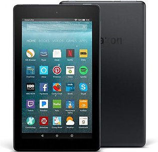 """Amazon Fire 7"""" with Alexa 8GB (7th generation 2017) with Special Offers - Black"""