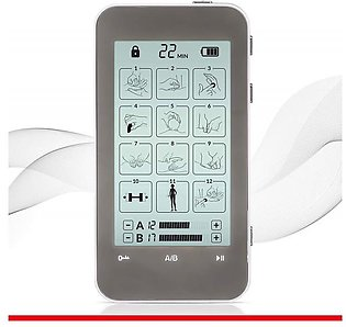 Omron TENS Unit and EMS Combination Muscle Stimulator with 2 Channels, 12 Mod...