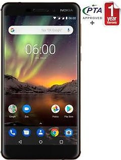 Nokia 6.1 - 64GB 4GB Black
