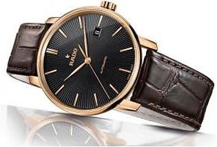 Rado Coupolle Classic Automatic Black Dial Men's Watch