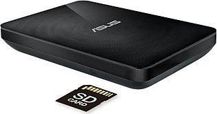 Asus Travelair N WHD-A2 1TB Wireless Hard Drive and SD Card reader with NFC
