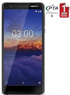 Nokia 3.1 - 32GB 3GB Chrome Black
