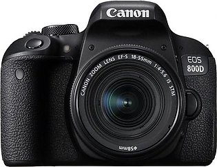Canon EOS 800D With 18-135 STM Lens