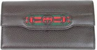 Gucci Women's Leather Brown Continental Wallet