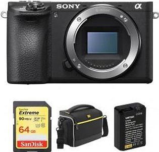 Sony Alpha a6500 Mirrorless Digital Camera Body with Free Accessory Kit