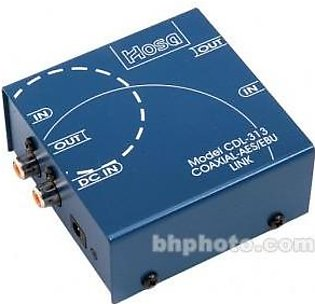 Hosa Technology CDL-313 - Bi-Directional Coaxial S/PDIF to XLR AES/EBU Data Link