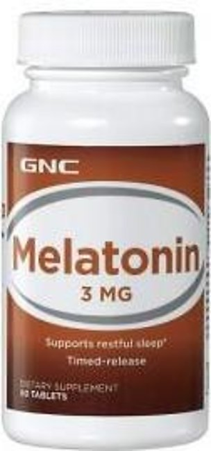 GNC Melatonin 3 mg (60 Tablets)