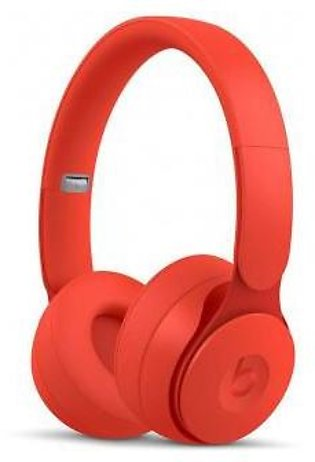 Beats Solo Pro Wireless Noise Cancelling On-Ear Headphones - Red