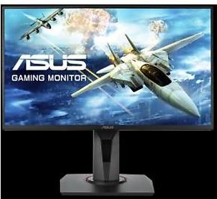 """Asus VG258Q Gaming Monitor - 24.5"""" Full HD, 1ms, 144Hz, G-SYNC Compatible, Ad..."""