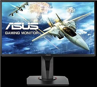 "Asus VG258Q Gaming Monitor - 24.5"" Full HD, 1ms, 144Hz, G-SYNC Compatible, Ad..."