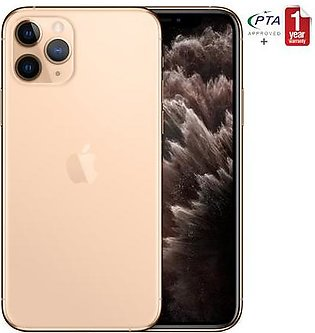 Apple iPhone 11 Pro Max 256GB Gold Single Sim (PTA Approved)