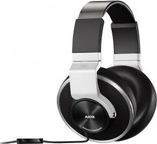 AKG K551SLV Closed-Back Reference-Class Headset with In-Line Microphone and P...