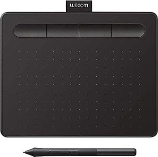 Wacom CTL-4100-N Intuos Graphics Drawing Tablet with Software, 7.9 X 6.3