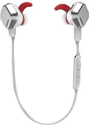 REMAX RB-S2 Sports Magnet Wireless Bluetooth Stereo Headphone With Mic - Silver