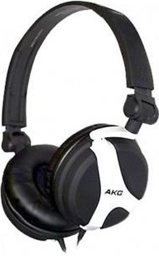 AKG K518LE Limited Edition DJ Headphones (White)