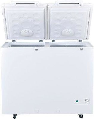Haier HDF-385DD 2 Door Inverter Chest Deep Freezer