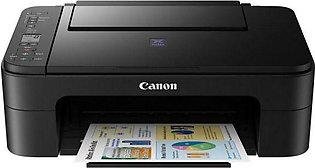 Canon PIXMA E3170 All-in-one Colour Multifunction IInkjet Printer (Black)