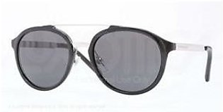 Burberry BE4168Q Sunglass-342887 Black (Gray Lens)-54mm