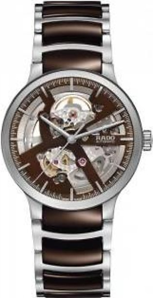 Rado Centrix Automatic Open Heart Brown Dial Men's Watch