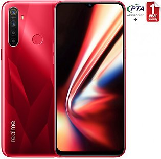 Realme 5s - Crystal Red