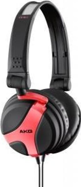 AKG K 518 LE Limited Edition Folding Headphones - Red