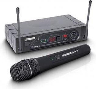 LD Systems WS ECO 16HHD Wireless Microphone System with Dynamic Handheld Microphone 16 Channel
