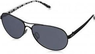 Oakley Feedback Non-polarized Iridium Aviator Sunglasses Metallic Black